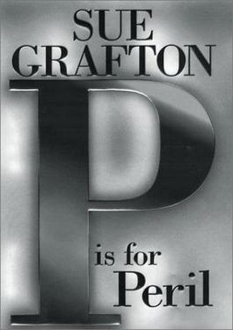 """P"" Is for Peril - First edition cover of the book ""P"" is for Peril by Sue Grafton."