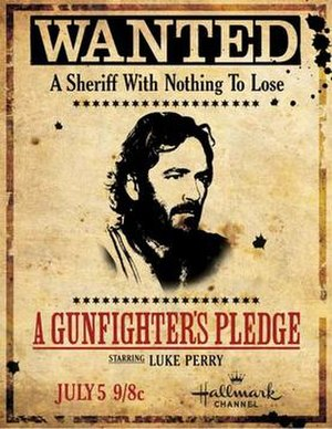 A Gunfighter's Pledge - Promotional poster used for guerrilla marketing campaign