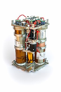 Propulsion system prototype for small satellites used in LituanicaSAT-2.