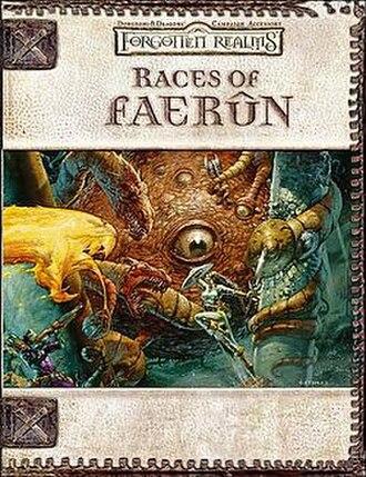 Races of Faerûn - Image: Races of Faerûn (D&D manual)