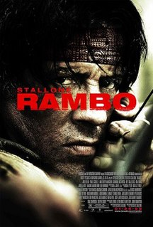 <i>Rambo</i> (2008 film) 2008 US action film directed by Sylvester Stallone