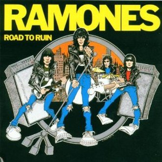 Road to Ruin (Ramones album) - Image: Ramones Road to Ruin cover