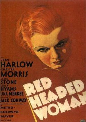 Red-Headed Woman - Poster