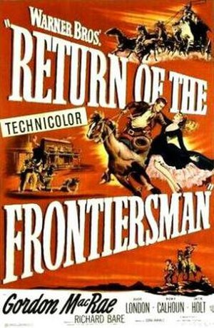 Return of the Frontiersman - Theatrical release poster