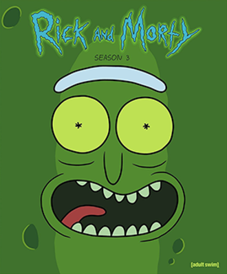 Rick and Morty (season 3) - Promotional poster
