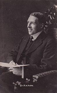 Sir Robert Aske, 1st Baronet British politician