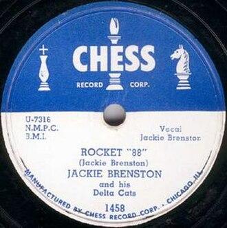 "Rocket 88 - Image: Rocket ""88"" single cover"