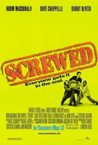 Screwed (2000 film) - Theatrical release poster