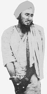 Indian wahabi revolutionary