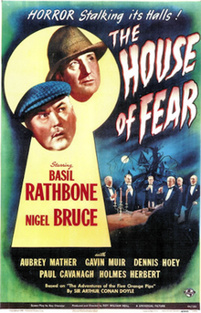 Sherlock Holmes and the House of Fear - 1945 - Poster.png