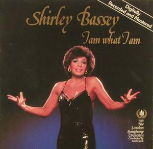 I Am What I Am (Shirley Bassey album) - Image: Shirley Bassey I Am What I Am