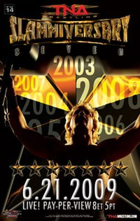A poster or logo for Slammiversary (2009).