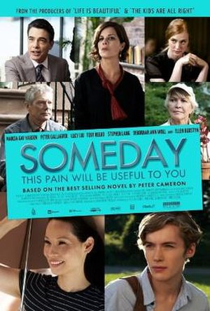 Someday This Pain Will Be Useful to You (film) - Image: Someday this pain will be useful to you poster