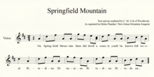 Springfield Mountain Molly Type staff music.png