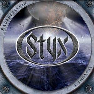 Regeneration: Volume I & II - Image: Styx Regeneration Vol 1