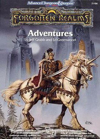 Forgotten Realms Adventures - Image: TSR2106 Forgotten Realms Adventures