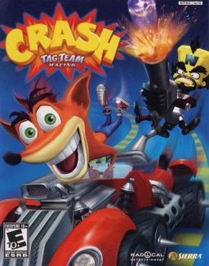 Crash Tag Team Racing - North American box art
