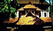 A Nalukettu traditional Kerala house in India