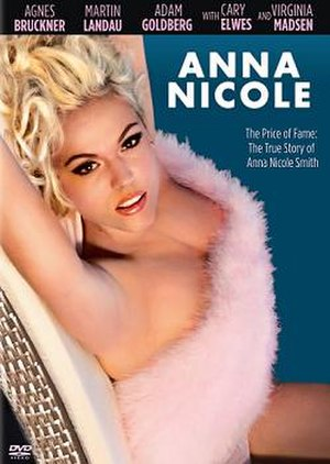 The Anna Nicole Story - DVD cover