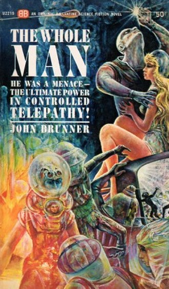 The Whole Man - Ballantine First Edition paperback cover
