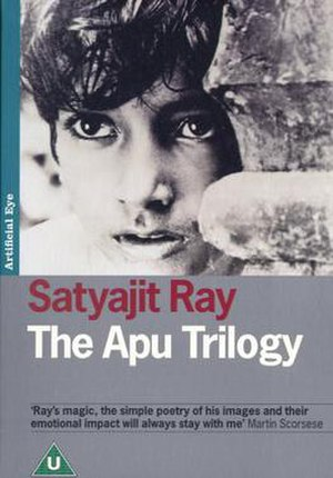 The Apu Trilogy - Region 2 box set cover