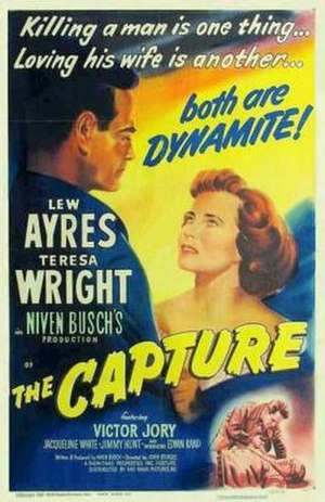 The Capture (film) - Theatrical release poster
