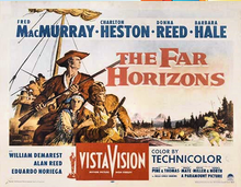 Image result for images of 1955 the far horizons (western 1955)
