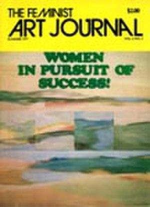 The Feminist Art Journal - 1977 cover