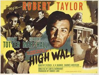High Wall - Theatrical release poster