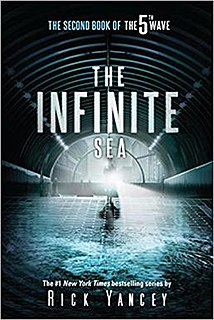 <i>The Infinite Sea</i> 2013 young adult science fiction novel