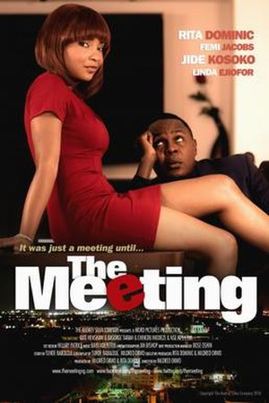 The Meeting (film) - Theatrical poster