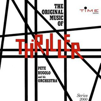 Thriller (U.S. TV series) - Image: The Original Music of Thriller