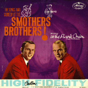 The Smothers Brothers at the Purple Onion - Image: The Smothers Brothers at the Purple Onion