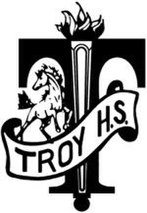 Troy High School (Michigan) - Image: Ths logo prev