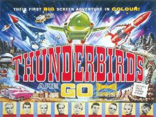 <i>Thunderbirds Are Go</i> 1966 British film directed by David Lane