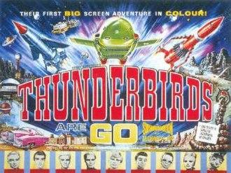 Thunderbirds Are Go - UK film poster