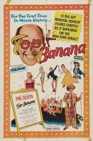 Top Banana (film) - Image: Top Banana Film Poster