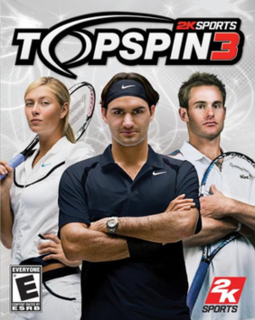 <i>Top Spin 3</i> 2008 video game
