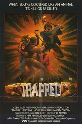 Trapped (1982 film) - Image: Trapped movie poster 1982