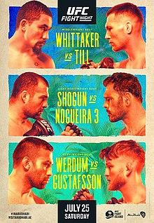 UFC on ESPN: Whittaker vs. Till Fight Poster