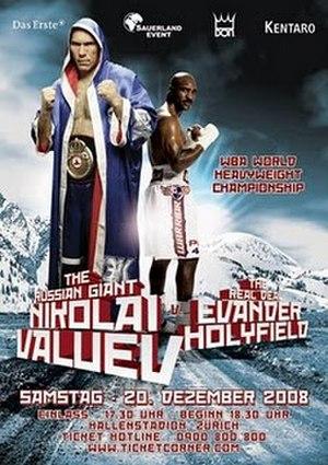 Nikolai Valuev vs. Evander Holyfield - Image: Valuev vs Holyfield