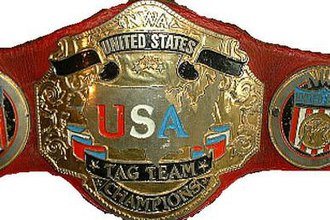 WCW United States Tag Team Championship - Image: WCWUS Tag Team Belt