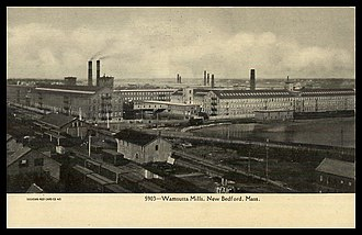1928 New Bedford textile strike - While other mills were involved, the locus of the 1928 New Bedford strike was the massive Wamsutta cotton mill works.