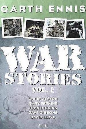 War Stories (comics) - Cover of War Stories Volume 1 trade paperback