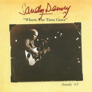 It's Sandy Denny - Image: Where the time goes