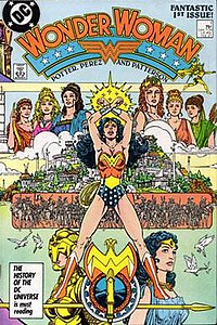 Wonder Woman (Vol. 2) #1. (Feb. 1987) Art by George Pérez.