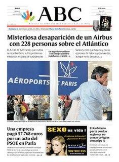 <i>ABC</i> (newspaper) Spanish newspaper