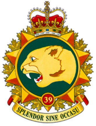 39 Canadian Brigade Group - Image: 39 Canadian Brigade Group (logo)