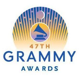 47th Annual Grammy Awards - Image: 47th Grammy Logo