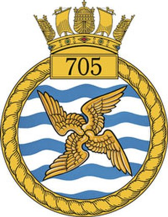 705 Naval Air Squadron - 705 NAS badge